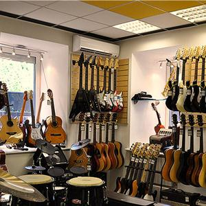 Музыкальные магазины Ордынского